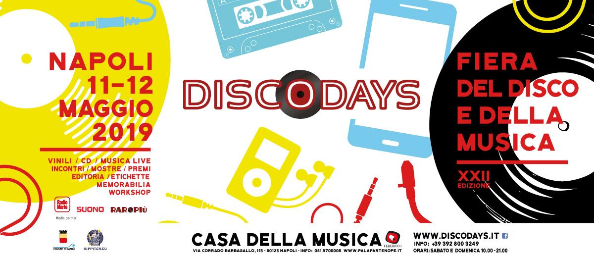 Risultati immagini per XXII ed. DiscoDays   Fiera del Disco e della Musica